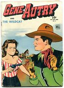 Gene Autry And The Wildcat- Four Color Comics 75 1945- F/g