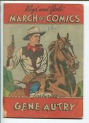 March Of Comics 54 1950- Gene Autry- Vg-