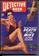 Detective Book Winter 1946-spicy-good Girl Art-george Gross-hard Boiled Pulp-vg