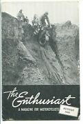 The Enthusiast 08/1943-harley-davidson Co-van Johnson-historic Motorcycle-vg