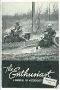 The Enthusiast 02/1943-harley-davidson-historic Motorcycle-vg