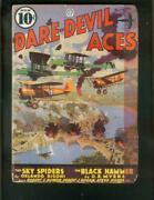 Dare-devil Aces Pulp-6/and03936-sky Spiders-black Hammer-wwi G/vg