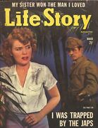 Life Story 3/1943-wwii-pulp Fiction-sterling Hayden-madeleine Carroll-fn