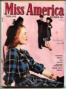 Miss America Vol 4 6 1946-fashions- Patsy Walker- Timely Comics