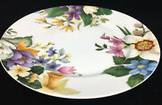 1 Salad Plate Narcissus Bill Goldsmith Limoges 29578 Floral Flowers White Golnar