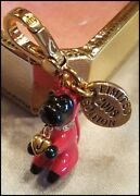 Rare Juicy Couture Limited Edition 2008 Red Devil Yorkie Charm Mint Nib