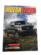2009 Ford F-150 Truck Original Road Test Brochure - Pickup Of The Year Award