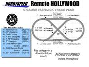 Lionel Fastrack Remote Hollywood Layout Track Pack 4 And039x 8and039 O Gauge Design Plan