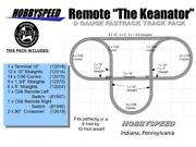 Lionel Fastrack Remote Keanator Track Layout 6x10' O Gauge Switch Layout Pack