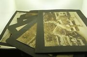 C.1928 Lot Of Six Harlem New York 28th Precinct Photos Incl. '28 Ford A Roadster