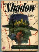 The Shadow Pulp January 1 1943- Museum Murders Vf