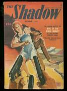 The Shadow October 1943- King Of The Black Market -pulp Fn