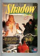 Shadow July 1943-the Golden Doom-maxwell Grant-fn-rare Pulp Fn