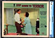 Step Down To Terror-colleen Miller-lobby Card-1959-cgc 9.4-nm Nm