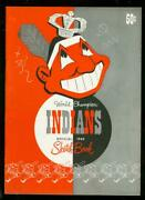 Cleveland Indians Yearbook '49-satchel Paige-early Wynn Vf