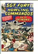 Sgt Fury And His Howling Commandos-10-1964-marvel-kirby Art-wwii-vf/nm