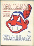 Cleveland Indians Team Yearbook 1959-mlb-photos-stats-billy Martin-minoso-vf+