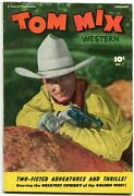 Tom Mix Western 1-photo Cover-golden Age Western Rare Vg