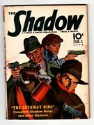 The Shadow Rare Pulp Magazine Feb 1 1940- Getaway Ring Street And Smith