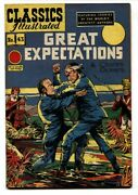 Classics Illustrated 43-1949-hrn 62-great Expectations-charles Dickens-vf-