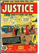Justice 19 1951-atlas-gas Station-gas Pumps-1st Thor Appearance-vg