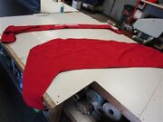Chaparral 226-246 Radar Arch Rear Cover And Boot Red 114301003 Marine Boat