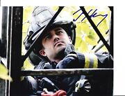 Chicago Fire Taylor Kinney Signed Squad 3 8x10