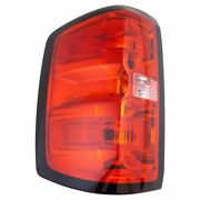 Tail Light Lamp Assembly Driver Side Lh Lr For Chevrolet Gmc Pickup Truck New