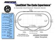Lionel Fastrack Lionchief The Cuda Experience Track Pack 5x9 O Gauge Train New