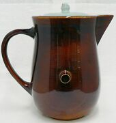 Red Wing Pottery Village Green Beverage Server With Small Chip