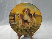 Bradford Exchange Limited Edition A Dandy Distraction Beagle Plate