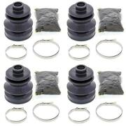 Complete Front Inner And Outer Cv Boot Repair Kit 500 Efi 4x4 W/at 13-16