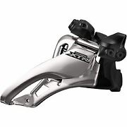 Shimano Xtr Fd-m9020-l Double Front Derailleur Side Swing Pull Low Clamp Silver