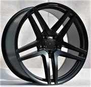 20and039and039 Wheels For Mercedes S-class Coupe S550 S600 S63 S65 Staggered 20x8.5/9.5