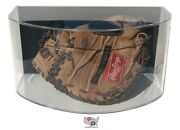 Curved Acrylic Wall Mount Baseball Glove Display Case Uv Protecting By Gameday