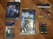 Harry Potter Birthday Party Bundle Invitations Banner Tablecover Props And More