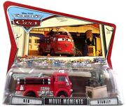 Disney Cars The World Of Cars Movie Moments Red Andamp Stanley Diecast Car 2-pack