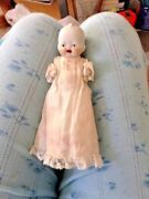 Vintage 1930-40s Japan Open Mouth Bisque 5 Doll Original Clothing