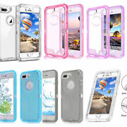 Iphone X Xs Max 6 7 8 Plus 11 Pro Defender Shockproof 3 In 1 Case Cover + Clip