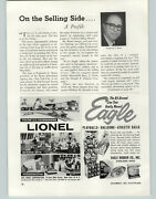 1962 Paper Ad Lionel Toy Trains Phonographs Record Players Science Sets