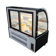 220v 48 Glass Refrigerated Cake Showcase Pie Bekery Cabinet Display Case Cooler