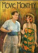 Movie Monthly August 1925- Tom Mix- Clara Bow- Jack Hoxie