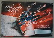 Roger Waters Pink Floyd Signed Autograph 24x36 Poster Bas Certified The Wall 5