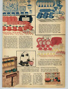 1956 Paper Ad Toy Dishes Blue Willow Evening Star Cameo Blue Happy Day Picnic