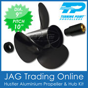 Turning Point Propeller Tohatsu 9x10 9.912151820hp Aluminium Outboard Prop