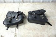 10 Tomos Streetmate R Moped Leather Saddlebags Saddle Bags Small Motorcycle