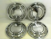 Ford Pinto Hubcaps 13 Set Of 4 Mercury Bobcat Wheel Covers