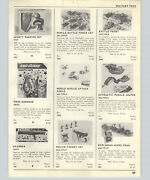 1963 Paper Ad Multiple Toy Co Toy Soldiers Puddle Jumper Andy Gard Scale Models
