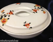Royal Rochester Fraunfelter Rro2 8 1/4 Covered Oval Casserole Dish Flowers