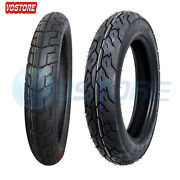 Motorcycle Tire Set 90/90-18 Front 130/90-15 Rear Touring Tires